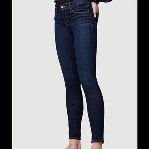 Frame Le Skinny De Jeanne Dark wash Jeans